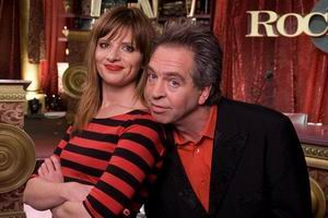 Rockwiz hosts Julia Zemiro and Brian Nankervis